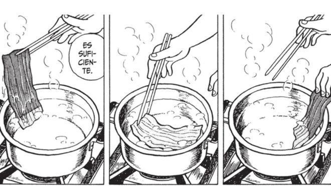 La biblia de la cocina nipona es un manga
