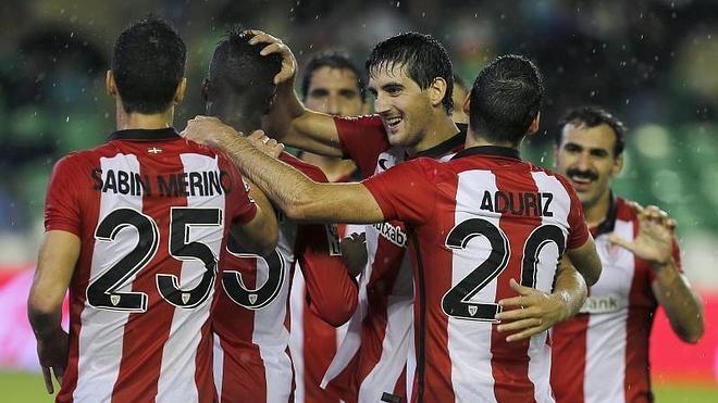 El Athletic sigue su escalada con primer triunfo fuera ante un Betis perdido
