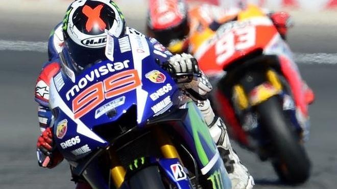 El mejor Lorenzo ante la carrera más esperada