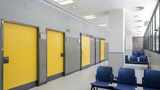 Puertas irrompibles para hospitales y residencias