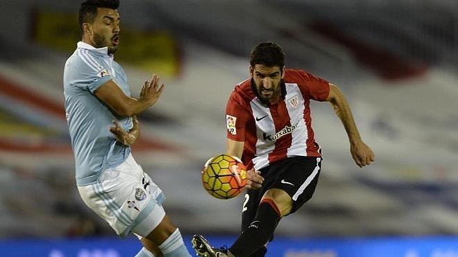 Raúl García permite al Athletic seguir escalando y frena al Celta