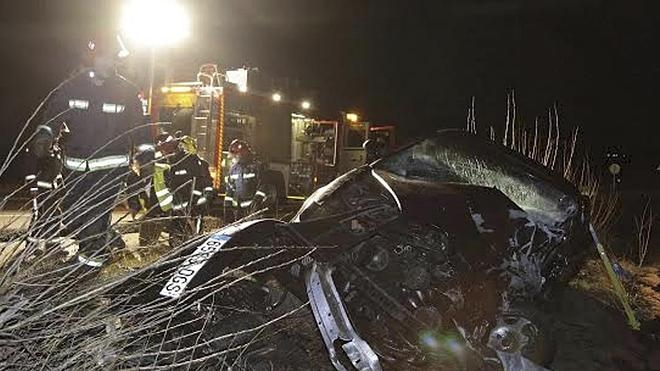 Tres fallecidos en una colisión múltiple en la localidad soriana de Alconaba