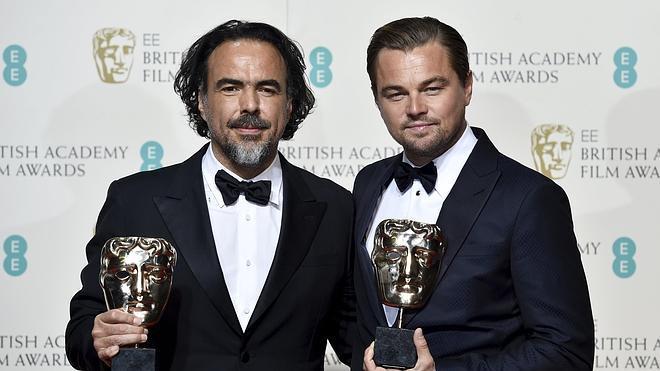 Di Caprio y 'El renacido', los grandes triunfadores de los Bafta