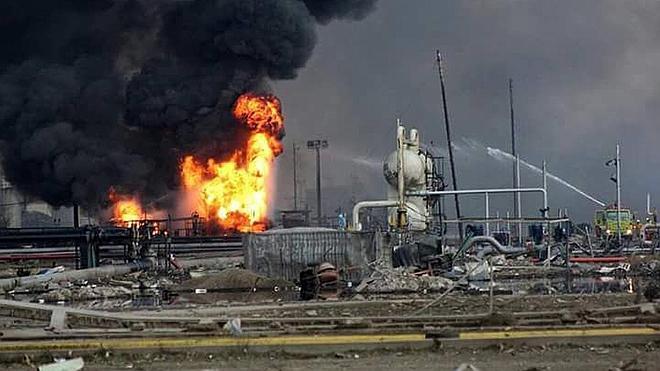 Una explosión en un complejo petroquímico de México deja tres muertos y 130 heridos