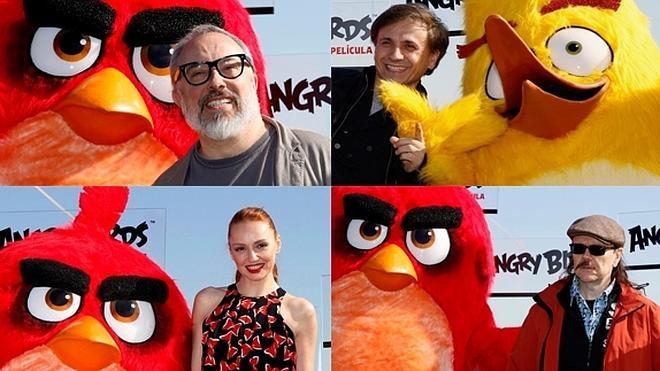 Las voces españolas de los Angry Birds