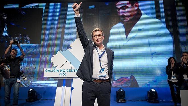 Feijóo, reelegido líder del PP gallego y designado candidato a la Xunta