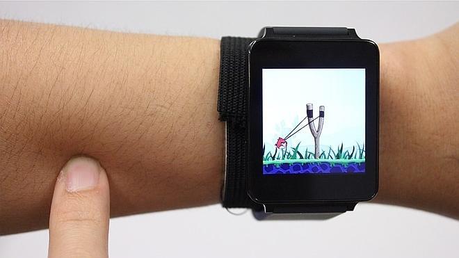 La piel, nuevo gadget para smartwatches