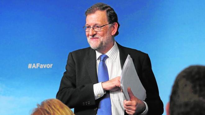 Rajoy reclama a los partidos que se «tranquilicen» para comenzar a negociar «sin presión»