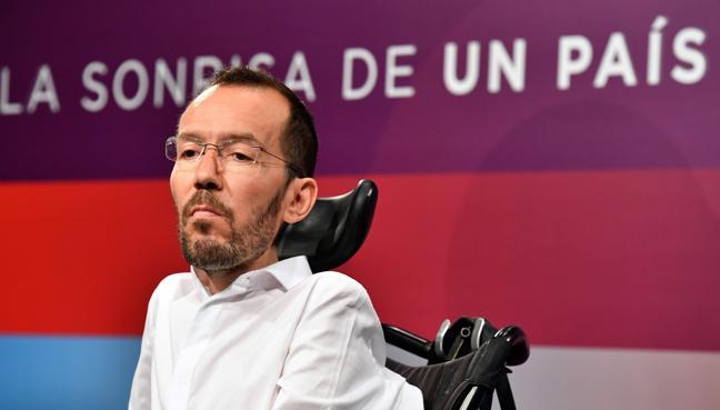 Echenique amenaza con «extirpar las malas hierbas» de Podemos si continúa la guerra interna