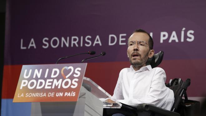 Echenique niega la purga en Podemos: «Nunca he hablado de acallar críticas»