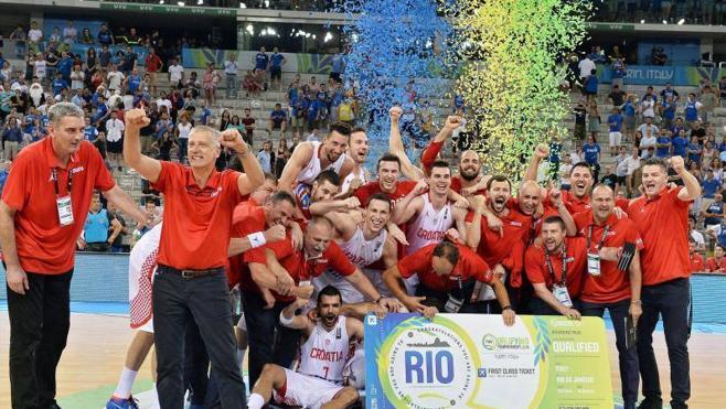 Croacia, primer rival de España en los Juegos