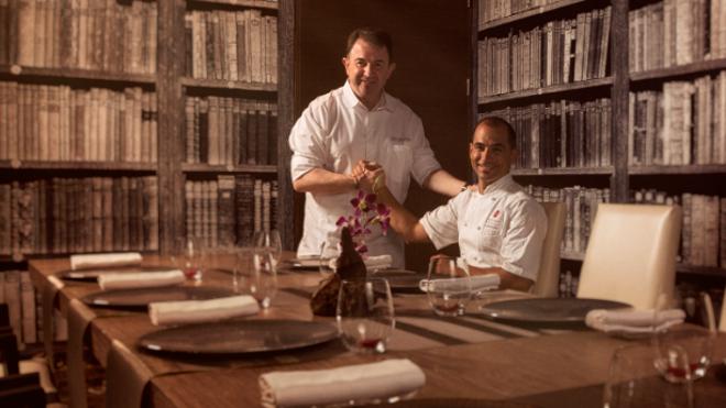 Martin Berasategui suma dos premios más a sus restaurantes de México