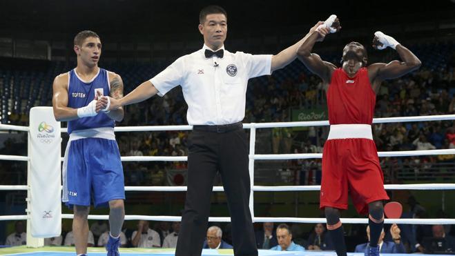 Una decisión ajustada deja a Carmona sin medalla