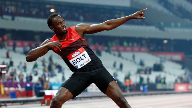 Usain Bolt inicia su último viaje al futuro