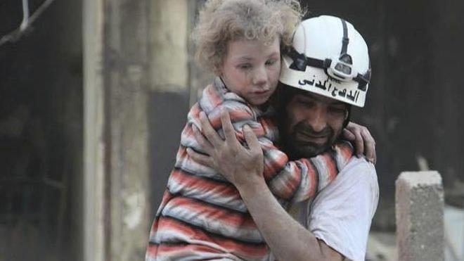 Cascos Blancos, los héroes de la guerra de Siria