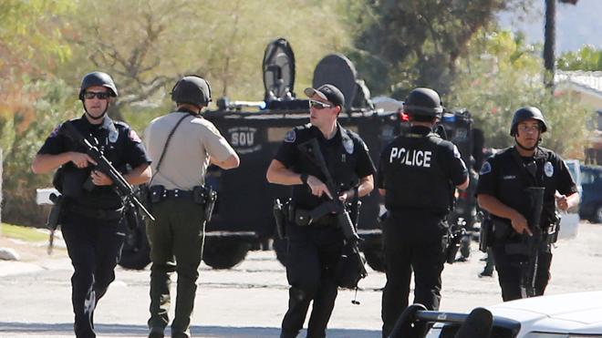 Mueren dos policías en un tiroteo en la ciudad californiana de Palm Springs
