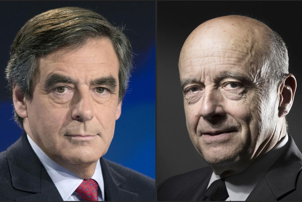 Fillon y Juppé dejan a Sarkozy fuera de la carrera por el Elíseo