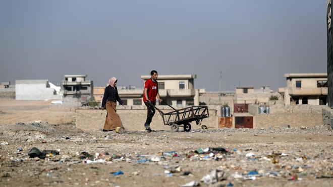 La desesperación cunde en Mosul ante la escasez de comida
