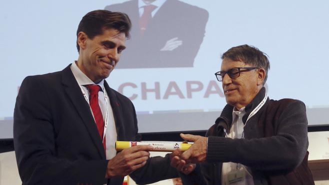 Raúl Chapado, nuevo presidente de la Federación Española de Atletismo