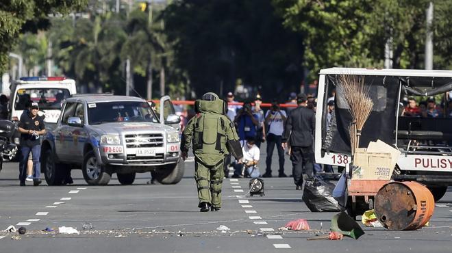 Filipinas confirma el intento de atentado yihadista cerca de la embajada de EE UU