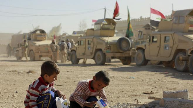 Fuerzas iraquíes están preparadas para atacar el aeropuerto de Mosul