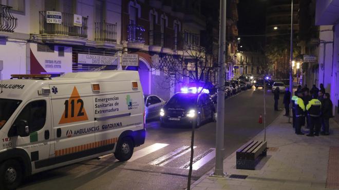 Un detenido en relación con el tiroteo en el que ha muerto un hombre en Badajoz