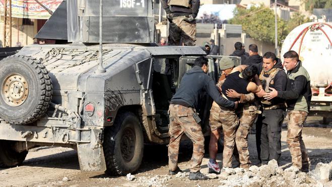 El Ejército iraquí anuncia la liberación del este de Mosul