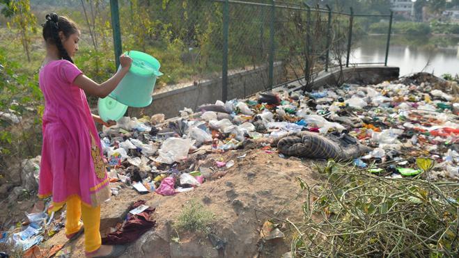 Cómo la Ciudad Jardín se convirtió en ciudad basura