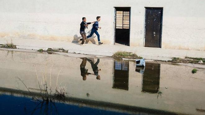 Los niños de Mosul están «supercontentos» con la vuelta al cole