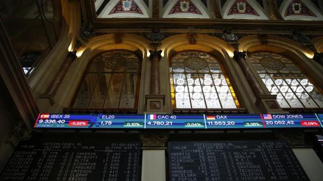 El Ibex sube el 1,13% y roza los 9.500 gracias a los grandes valores