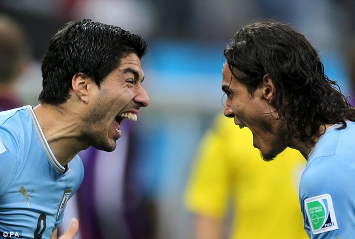 Suárez contra Cavani, duelo de goleadores de Salto
