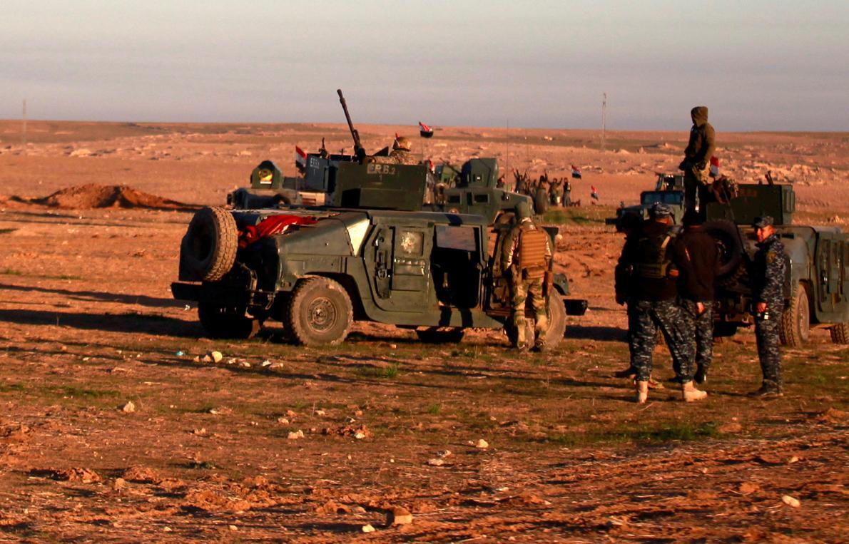 Las fuerzas iraquíes reconquistan dos localidades al sur de Mosul