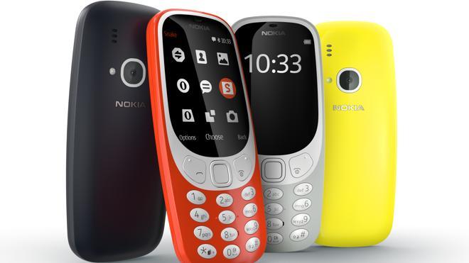 Nokia resucita un 3310 a color por 50 euros