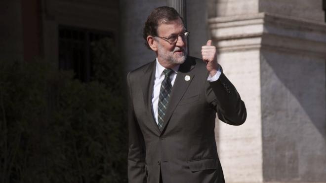 Rajoy cumple 62 años, el sexto aniversario que celebra en Moncloa