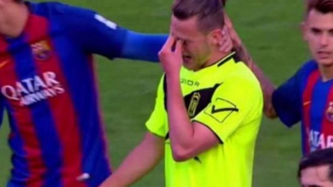 Maiki Fernández, al calabozo tras llorar por la goleada