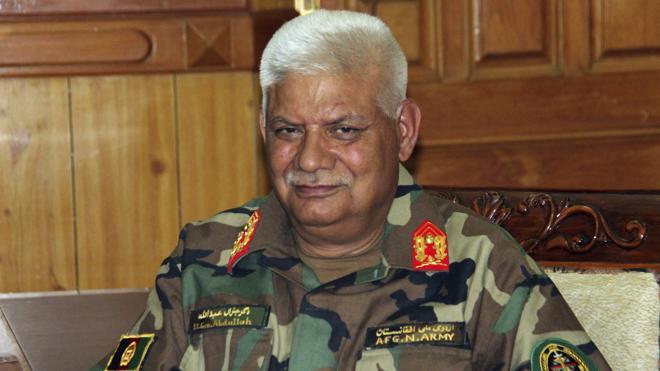 Dimiten el ministro de Defensa y el jefe del Estado Mayor de Afganistán