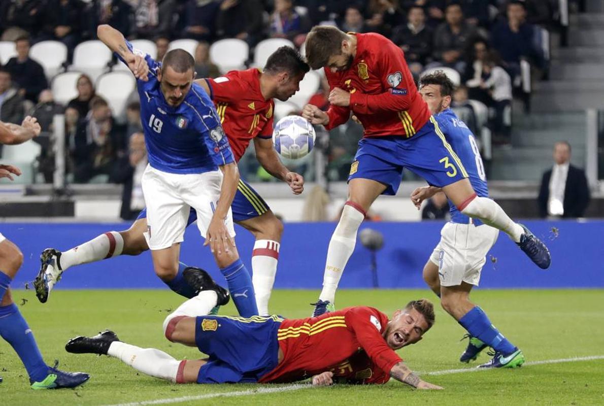 España vuelve al Bernabéu seis años después