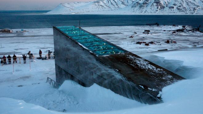 El cambio climático pone en peligro la reserva mundial de semillas del Ártico