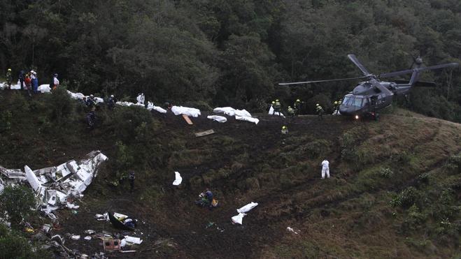 El avión en el que se estrelló el equipo del Chapecoense volaba sin seguro