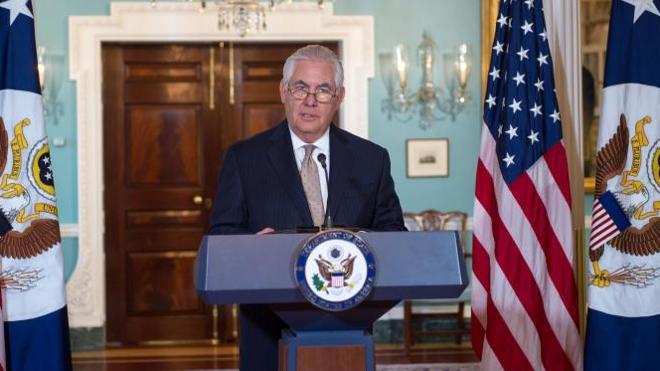 EE UU pide a sus aliados del Golfo suavizar el bloqueo a Catar