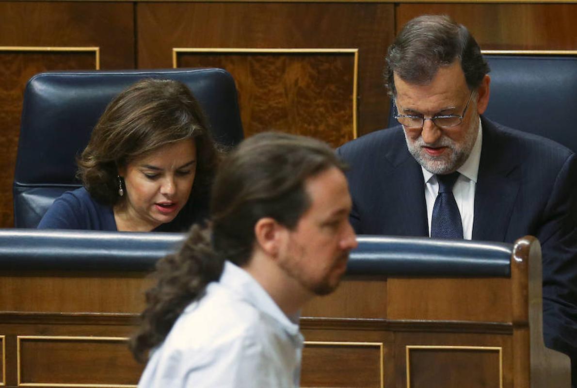 Rajoy desmonta el guión de Iglesias