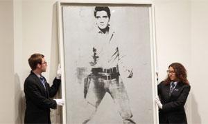 El 'Elvis' de Warhol, vendido por 37 millones en Nueva York