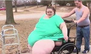 La mujer más gorda del mundo quiere adelgazar 120 kilos para su boda