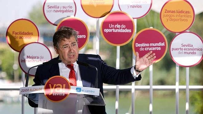El alcalde de Sevilla pierde el mapa