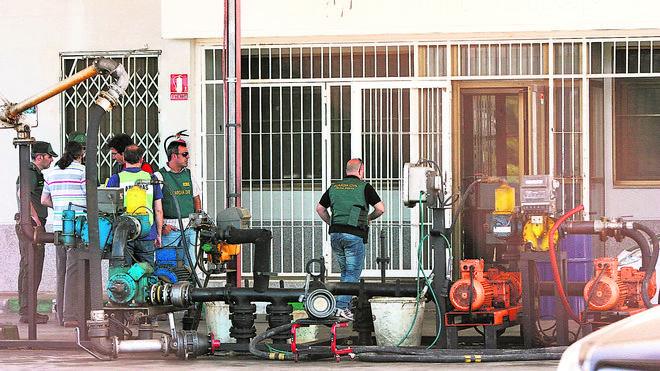 Detienen en Málaga a un distribuidor de gasoil en una redada contra el combustible adulterado