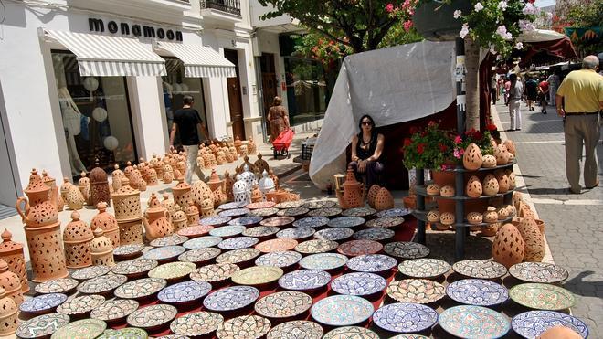 El mercado medieval vuelve al casco histórico de Estepona