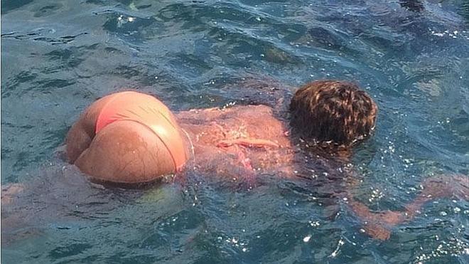 Serena Williams luce cuerpazo y trasero en las playas de Croacia