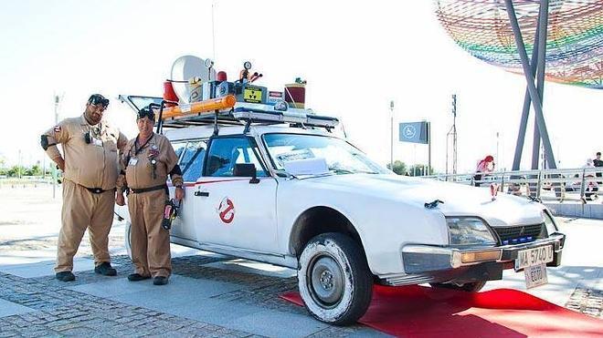 El coche de los 'Cazafantasmas' rastreará el Centro de Málaga este sábado