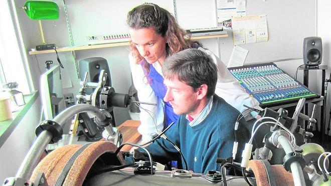 Una tecnóloga con muy buen oído