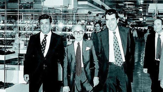 1979: Ramón Areces inaugura El Corte Inglés de Málaga